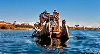 Lake Titicaca Uros Taquile